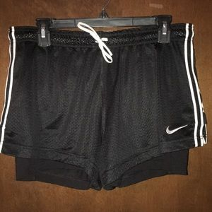 Nike 2 in 1 Workout Shorts